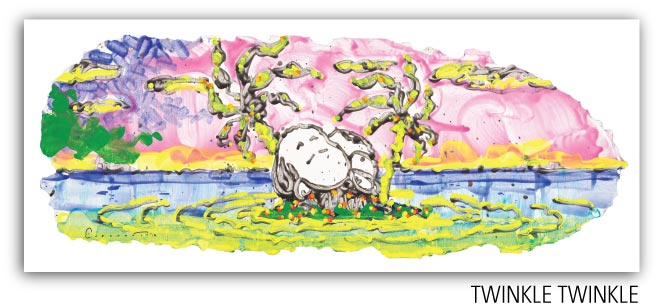 Tinkle Twinkle by Tom Everhart from the Motu Homies